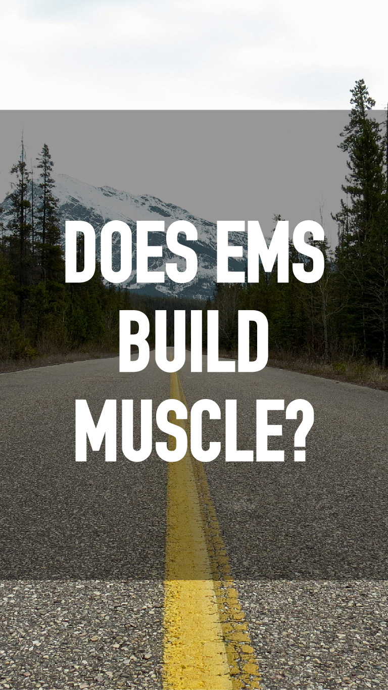 Does EMS Build Muscle?