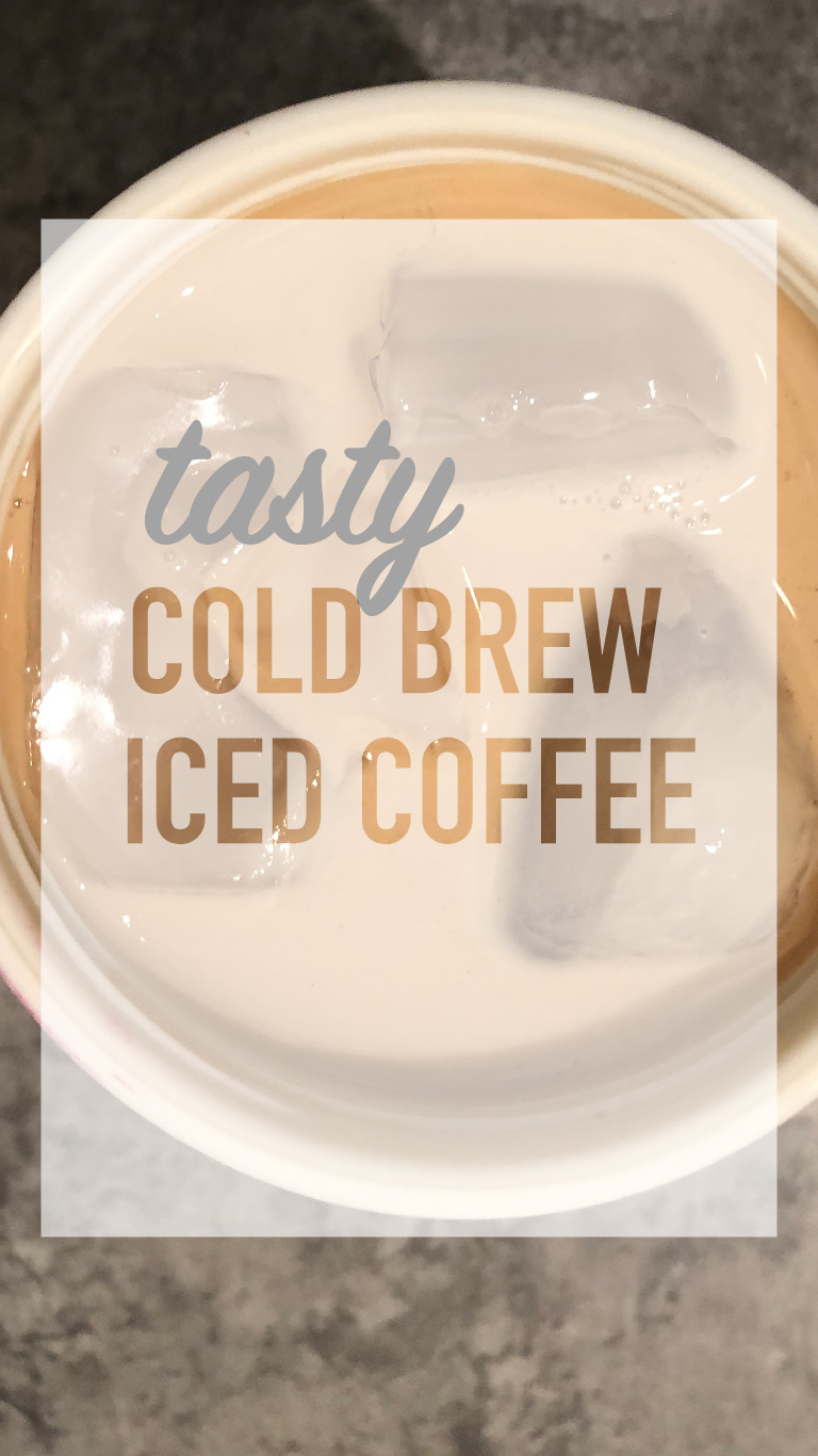 Yummy Cold Brew Iced Coffee