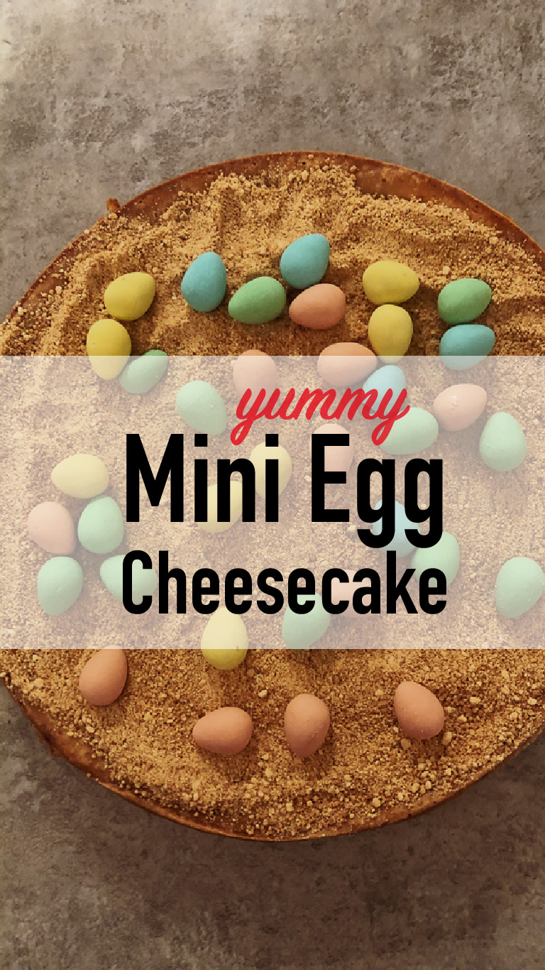 Yummy Mini Egg Cheesecake